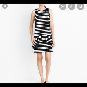 J.Crew factory striped knit dress size medium